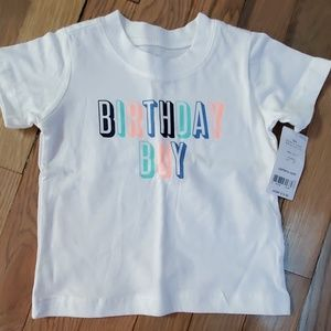 Brand new birthday boy shirt
